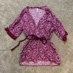 Cute lightweight robe perfect for summer M/L